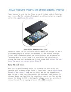 we-know-youre-probably-one-of-these-people-well-here-are-five-more-things-that-we-do-not-wish-see-on-the-iphone-5 by Leslie Bass via Slideshare