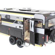 Black Series Off Road Camper Trailer, Camper Trailers, Roof Hatch, Gas Detector, Tiny Trailers, Jerry Can, Black Series