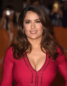 Actress Salma Hayek attends the 'Septembers of Shiraz' premiere during the 2015 Toronto International Film Festival at Roy Thomson Hall on September. Selma Hayek, Salma Hayek Bikini, Salma Hayek Body, Hollywood Celebrities, Hollywood Actresses, Salma Hayek Pictures, Divas, Jolie Photo, Voluptuous Women