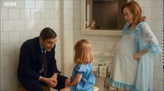 Call The Midwife - The Turners Season 6 Episode 5 - Shelagh pregnant with Teddy Call The Midwife Cast, Bbc Drama, Old Tv Shows, Will Turner, Episode 5, Pride And Prejudice, Period Dramas, Great Movies, Costume Design