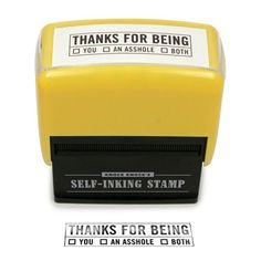 Thanks For Being... Stamp