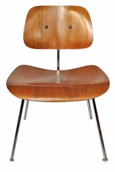 (My grandparents had a bunch of these! I want!) Herman Miller side chair