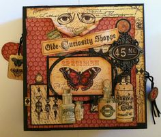 Gallery: Black, Red and Cream 8 x 8 Memory Book