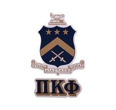 Beta Theta Pi Crest Decal  Crests Ps And Letters