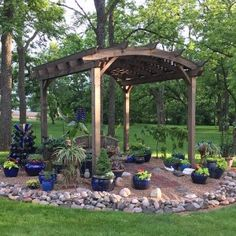 The perfect way to build great pergolas is to refer to the pergola plans. Whether you are building it yourself or with the help of contractors, you must study several plans and select the right one so that the work will be lot easier. Pergola Attached To House, Deck With Pergola, Cheap Pergola, Covered Pergola, Outdoor Pergola, Backyard Pergola, Pergola Plans, Backyard Landscaping, Pergola Ideas
