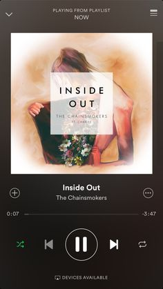Inside Out - Chainsmokers