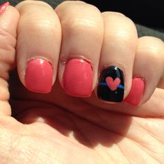 My nails for Police Week!