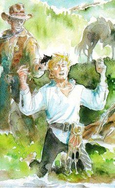 Ken Parker, Comics, Painting, Fictional Characters, Artists, History, Comic, Atelier, Painting Art
