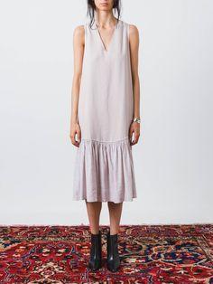 Lilac Column Dress