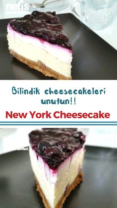 How to make a New York Cheesecake Recipe? Illustrated description of New York Cheesecake Recipe in the book of people and photographs of those who try it are here. Author: Hacer Eraslan New York Cheesecake Recipe - Hacer Eraslan - Yummy Recip Easy Homemade Recipes, Easy Cake Recipes, Cookie Recipes, Dessert Recipes, Yummy Recipes, Keto Recipes, New York Cheescake, New York Cheesecake Rezept, Best Keto Cheesecake Recipe