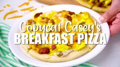 Copycat Casey's Breakfast Pizza - The Food Hussy Project Dog, Olive Garden Pasta, Pepperoni Bread, Maid Rite, Frozen Biscuits, Pork Pasta, Pasta Fagioli Recipe, Cooks Air Fryer, Steamed Shrimp