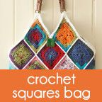 free pattern: squares bag - a creative being