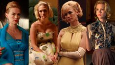 To celebrate the end of an era, we're taking a look back with 'Mad Men's head costume designer at seven of Betty most iconic fashion moments.