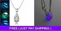Love Steampunk? Check Out This Awesome Glow In The Dark Unisex Necklace