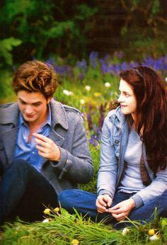 The meadow-Twilight Saga. Twilight Bella Und Edward, Edward E Bella, Twilight Film, Twilight Saga Series, Twilight New Moon, Twilight Pictures, Edward Cullen, Robert Pattinson Twilight, Fan Fiction