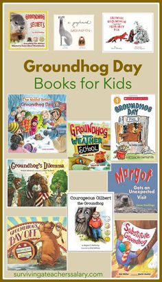 Groundhog Day books for kids PLUS art and craft activities to pair with this popular holiday. Summer Crafts For Toddlers, Arts And Crafts For Adults, Arts And Crafts House, Easy Arts And Crafts, Crafts For Seniors, Crafts For Girls, Arts And Crafts Projects, Toddler Crafts, Arts And Crafts Interiors