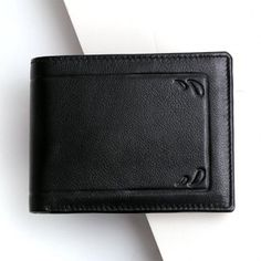 Men's Black PU Leather Wallet Best Gifts For Boys, Birthday Gifts For Boys, Gifts For Him, Leather Wallet, Pu Leather, Cool Gifts, Black, Black People, Boy Birthday Gifts