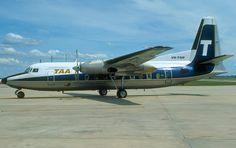 Trans Australian Airlines Fokker F 27-100 (VH-TQN)
