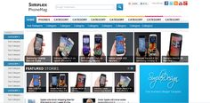 Simplex PhoneMag es una plantilla blogger para celulares, comentarios disqus, 2 columnas, 2 barras laterales, 3 footers, fondo blanco.  Autor y diseñador: thesimplexdesign / http://www.thesimplexdesign.com/   Demostración | Descargar con disqus / sin comentarios disqus  instrucciones como instalar plantillas all in one seo pack para blogger