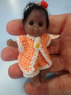 "ooak baby ... mini baby Full silicone ** KAYA **  3"" ...created by LOU"