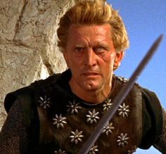 The Viking: One-eyed loon Einar (Kirk Douglas), heir to the Viking throne, and vengeful half-brother