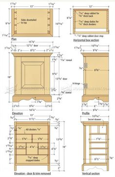 Be sure to download the free woodworking plan for this classic
