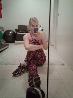 Candy on the Run: Juoksijalle sopiva kotitreeni & alkuviikon liikunn...