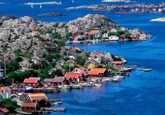 Tjornekalv at the West coast archipelago