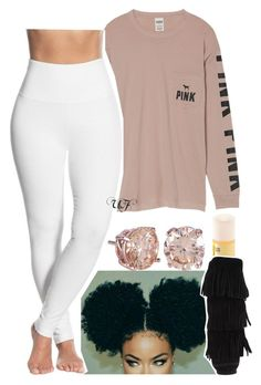 """."" by renipooh ❤ liked on Polyvore featuring Carmex, Victoria's Secret, Minnetonka and Lyssé Leggings"
