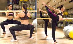 Body Ballet® en HOLA en FOMA.  Muchas gracias, nuevamente, a la entrenadora personal Isabel del Barrio, autora del blog On my training shoes, que, pese a colgar sus bailarinas hace 10 años para dedicarse de lleno al fitness siempre lleva el ballet en su corazón.  Gracias, Isabel!