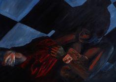 Amea, 2009 ·oil on canvas · 196 × 137cm