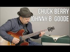 Chuck Berry - Johnny B. Goode - How to Play on guitar - Guitar Lesson, Tutorial - YouTube