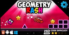 Geometry Rash HTML5 Game - https://codeholder.net/item/html5/geometry-rash-html5-game