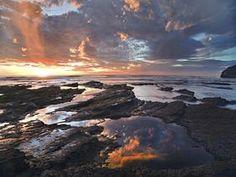 Pelada Beach at Sunset, Costa Rica - Professional Photos