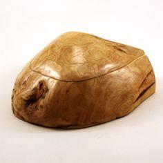 Maple Burl Box by Wyckoff Woodworks
