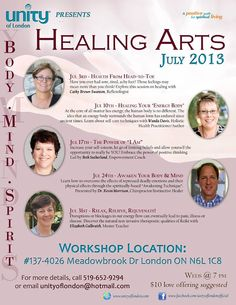 If you'd like to learn more about Reflexology I will be speaking on July 3rd on Reflexology Healing from Head to Toe.