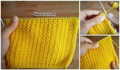 HER EL ÖRGÜSÜNE YAKIŞAN UFAK ÖRNEKLİ DESEN Knitting Stitches, Knitting Yarn, Knitting Patterns, Teapot Cover, Baby Mermaid, Yarn Shop, Easy Crochet Patterns, Vintage Patterns, Tricks