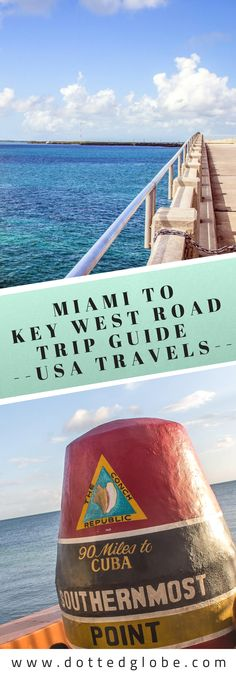 Miami to Key West Drive Guide: 25 Essential Stops - Miami to Key West Road Trip Florida Vacation, Florida Travel, New Travel, Travel Usa, Road Trip Miami, Us Road Trip, Miami To Key Largo, Key West Florida, Key West Miami