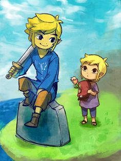 No, no, no it HURTS! I can't even play Spirit Tracks without thinking Tetra and WW Link are... No, they're so special to me. I grew up with them!!