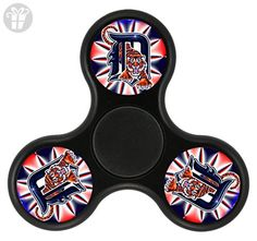 Sunny Fidget Spinner and Hand Spinner, Durable and Rugged Tri Spinner Fidget Toy Stress Reducer for Adults and Kids (Detroit) - Fidget spinner (*Amazon Partner-Link)