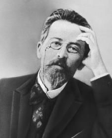 Russian author playwright and physician Anton Chekhov