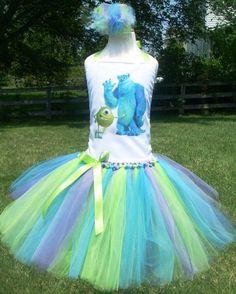 Monsters Inc. Tutu Dress