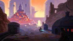 Burning Lights of the city beyond, Filipe Pinto on ArtStation at https://www.artstation.com/artwork/Y60yq