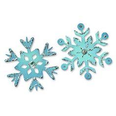 Sizzix FABI Snowflakes Original Die 656731- StitchintheDitch.com Canada
