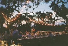 just a big party / celebration of love and family and friends. what my wedding will be <3