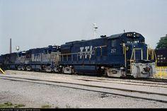 RailPictures.Net Photo: TTIS 257 Transkentucky Transportation Railroad GE U28B at Paris, Kentucky by Pete Greischar