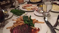 [I Ate] Steak Frittes asparagus with hollandaise sauce crab legs and baked cauliflour. http://ift.tt/2lIBzq1