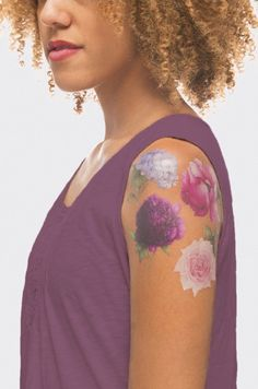 Tattly is coming out with gorgeous, floral-scented temporary tattoos!