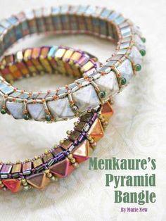 PATTERNS 2 Tila Beads Windows AND Peek a Boo Bracelets