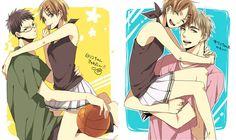 I'm partial to Hyuga, but she's cute with Kiyoshi too. ^_^